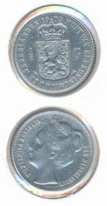 Nederland 1905 0,5 Gulden Wilhelmina