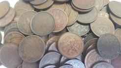 Nederland 1878 - 1940 0,5 centen 25 stuks