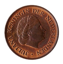 Nederland 1951 5 cent Juliana