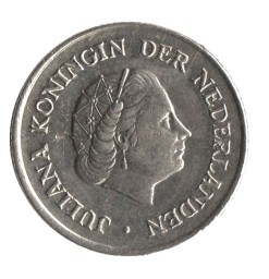 Nederland 1954 10 cent Juliana