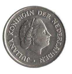 Nederland 1957 10 cent Juliana