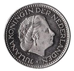 Nederland 1967 1 Gulden Juliana