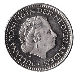 Nederland 1977 1 Gulden Juliana