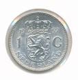 Nederland 1967 1 Gulden zilver Juliana