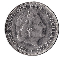 Nederland 1972 2,5 Gulden Juliana