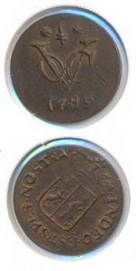 Gelderland 1789 VOC duit