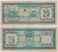 Nederlandse Antillen 1979 25 Gulden bankbiljet