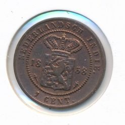 Nederlands Indie 1858 1 cent