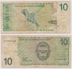 Nederlandse Antillen 2003 10 Gulden bankbiljet