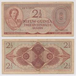 Nieuw Guinea 1950 2,5 Gulden bankbiljet
