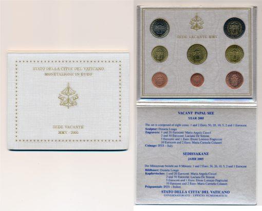 45484 Vaticaan 2005 BU Set Sede Vacante