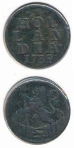 Holland 1739 duit