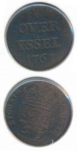 Overijssel 1767 duit