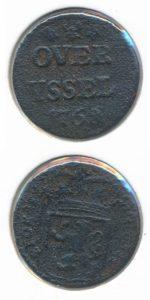 Overijssel 1768 duit