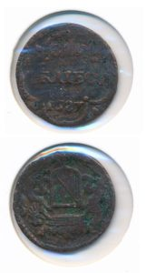 Utrecht 1687 duit