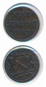 Utrecht 1783 duit