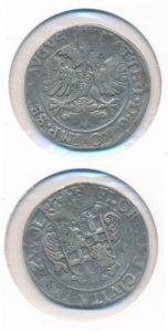 Zwolle 28 zilveren stuiver Florijn