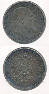 Duitsland 1904 5 Mark