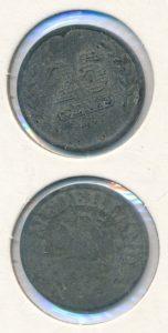 Nederland 1943 25 cent Wilhelmina
