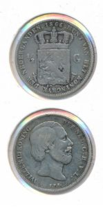 Nederland 1866 0,5 Gulden Willem III
