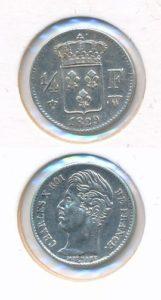 Frankrijk 1829 1/4 francs