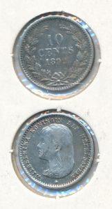 Nederland 1892 10 cent Wilhelmina