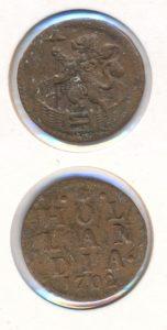 Holland 1702 duit
