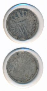 Nederland 1825 Brussel 10 cent Type A Willem I