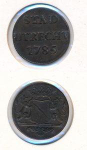 Utrecht 1785 duit