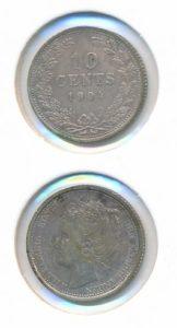 Nederland 1904 10 cent Wilhelmina