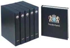 Davo set luxe postzegelalbums Nederland deel 1 tm 7 (1852 tm 2015) met cassette.