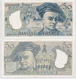 Frankrijk 1976 - 1992 50 Francs bankbiljet