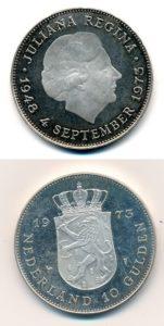 Nederland 1973 10 Gulden Juliana