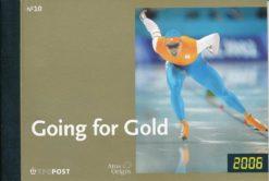 Nederland 2006 Olympische spelen going for gold prestigeboekje PR10