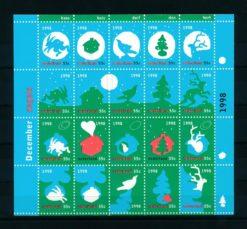 Nederland 1998 velletje Decemberzegels  NVPH V1788-07