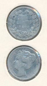 Nederland 1904 25 cent Wilhelmina
