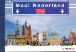 Nederland 2006 Mooi Nederland prestigeboekje PR12