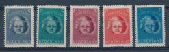 Nederland 1945 Kinderzegels NVPH  444-48