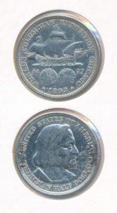 Verenigde Staten 1893 halve dollar