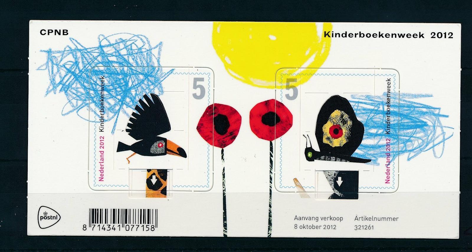 Nederland 2012 Kinderboekenweek blok  NVPH 2999