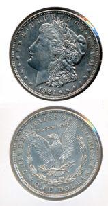 Verenigde Staten 1921 1 dollar