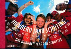 Nederland 2007 100 Jaar scouting prestigeboekje PR16