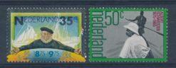 Nederland 1975 100 jaar SMZ en 100e geboortedag Albert Schweitzer NVPH  1073-74