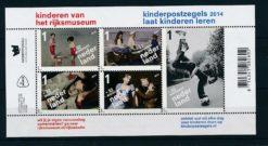 Nederland 2014 Kinderzegel blok  3235