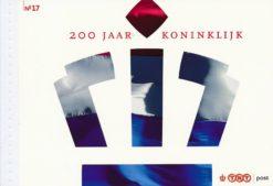 Nederland 2007 200 Jaar Konink prestigeboekje PR17
