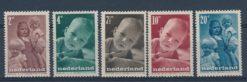 Nederland 1947 Kinderzegels NVPH  495-99