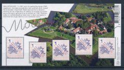 Nederland 2015 Mooi Nederland velletje vestingsteden Bourtange NVPH 3269