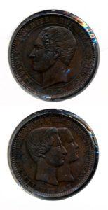 Belgie 1853 Leopold penning