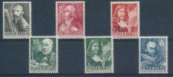 Nederland 1940 Zomerzegels NVPH 350-55