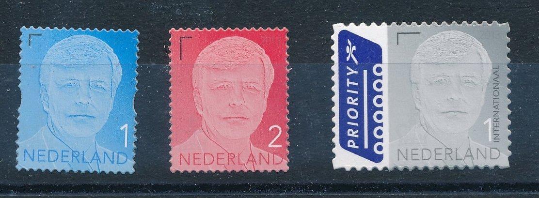 Nederland 2013 Frankeerzegels Koning Willem Alexander NVPH 3135-37 gestanst